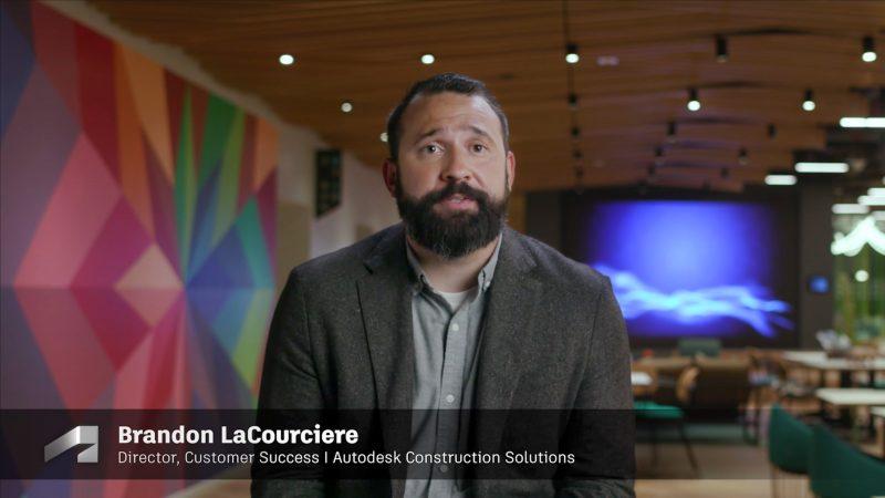 Brandon LaCourciere, Director, Customer Success, Autodesk Construction Solutions, Autodesk University 2021